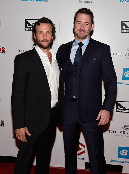 Kyle Schmid and Barry Sloane Photo credit Wire Image David Becker