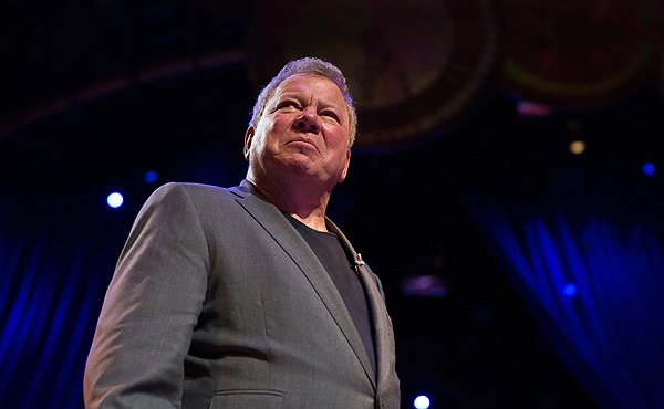 Emmy Award winning actor William Shatner performs in fifth annual One Night for One Drop March 3 2017