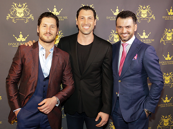 Dancing with the Stars professionals Maksim Chmerkovskiy, Valentin Chmerkovskiy and Tony Dovolani - Photo credit: Edison Graff/Stardust Fallout Media