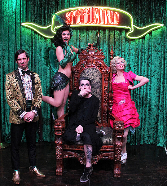 Tape Face Attends ABSINTHE Las Vegas at Caesars Palace 3.16.17 credit Joseph SandersSpiegelworld