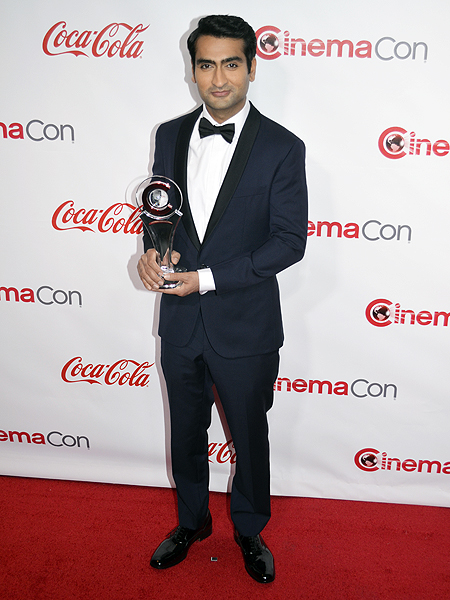 Kumail Nanjaiani 2017 CinemaCon Photo credit Stephen Thorburn 3258