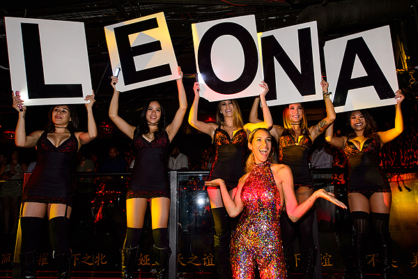 Leona Lewis Celebrates Her Birthday at TAO 4.1.17