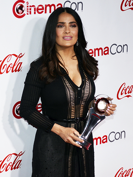 Salma Hayek 2017 CinemaCon Photo credit Stephen Thorburn 3302
