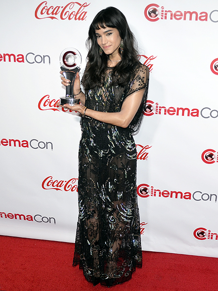 Sofia Boutella 2017 CinemaCon Photo credit Stephen Thorburn 3362