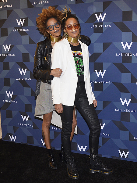 Twin DJs Coco and Breezy W Grand Opening