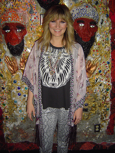 Jennifer Nettles at the Meet and Greet before her show at the HOB